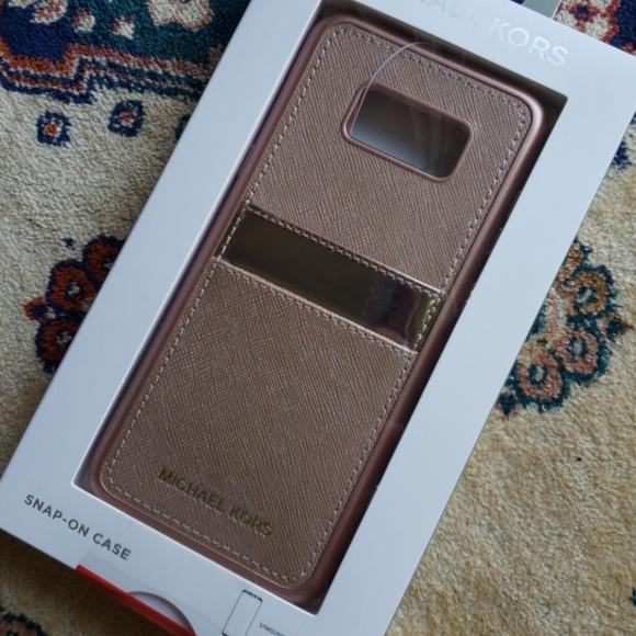 on sale b848e 852ed Michael Kors Samsung Galaxy S8 PLUS Case NWT